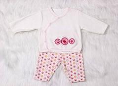 Ve  et Material Long sleeve baby girl clothing set