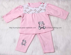 Baby Girl Clothing Set Boutique 2pc