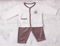 Baby boy ve  et clothing set casual spring and autumn clothing set