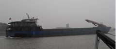 3000t sand barge