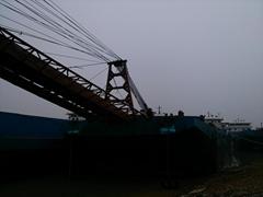 5500t self-propelled conveyor barge