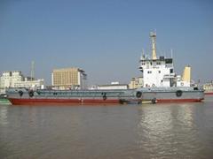1300cbm split hopper barge