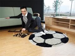 100% polyester popular felt ball carpet