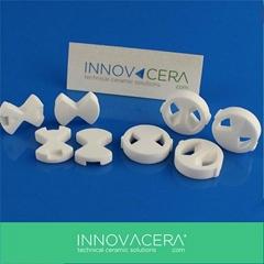 Alumina Ceramic Water Va  e Plate/Alumina Structure/Innovacera