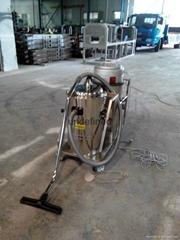 大量灰尘专用工业吸尘器