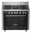 Vezsin 36 Inch Stainless Steel Free Standing Gas Cooker with Oven (G36D05) 1