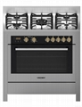 Vezsin 36 Inch Stainless Steel Free Standing Gas Cooker with Oven (G36D09) 1