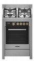 Vezsin 24 Inch Stainless Steel Free Standing Gas Cooker with Oven (G24D09) 1