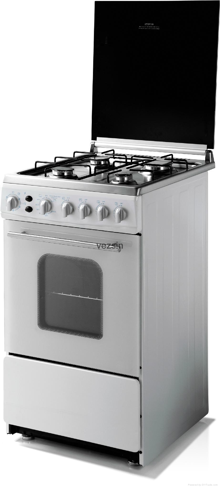 20 Inch Free Standing Gas Cooker with Oven (G20C01) 1
