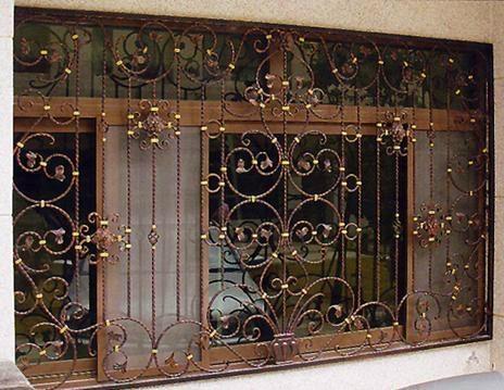 各式鍛造防盜窗 4