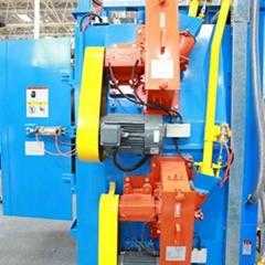 Q37 Series Overhead Rail Spinner Hanger Shot-blasting Machine