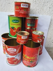 Canned tomato paste export to africa brix 28-30%