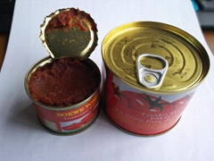 Tin Canned Tomato Paste 28-30% 400g From Chinese Factory