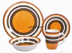 石瓷16頭手繪陶瓷餐具