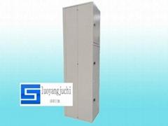 Three Door Foldable Locker