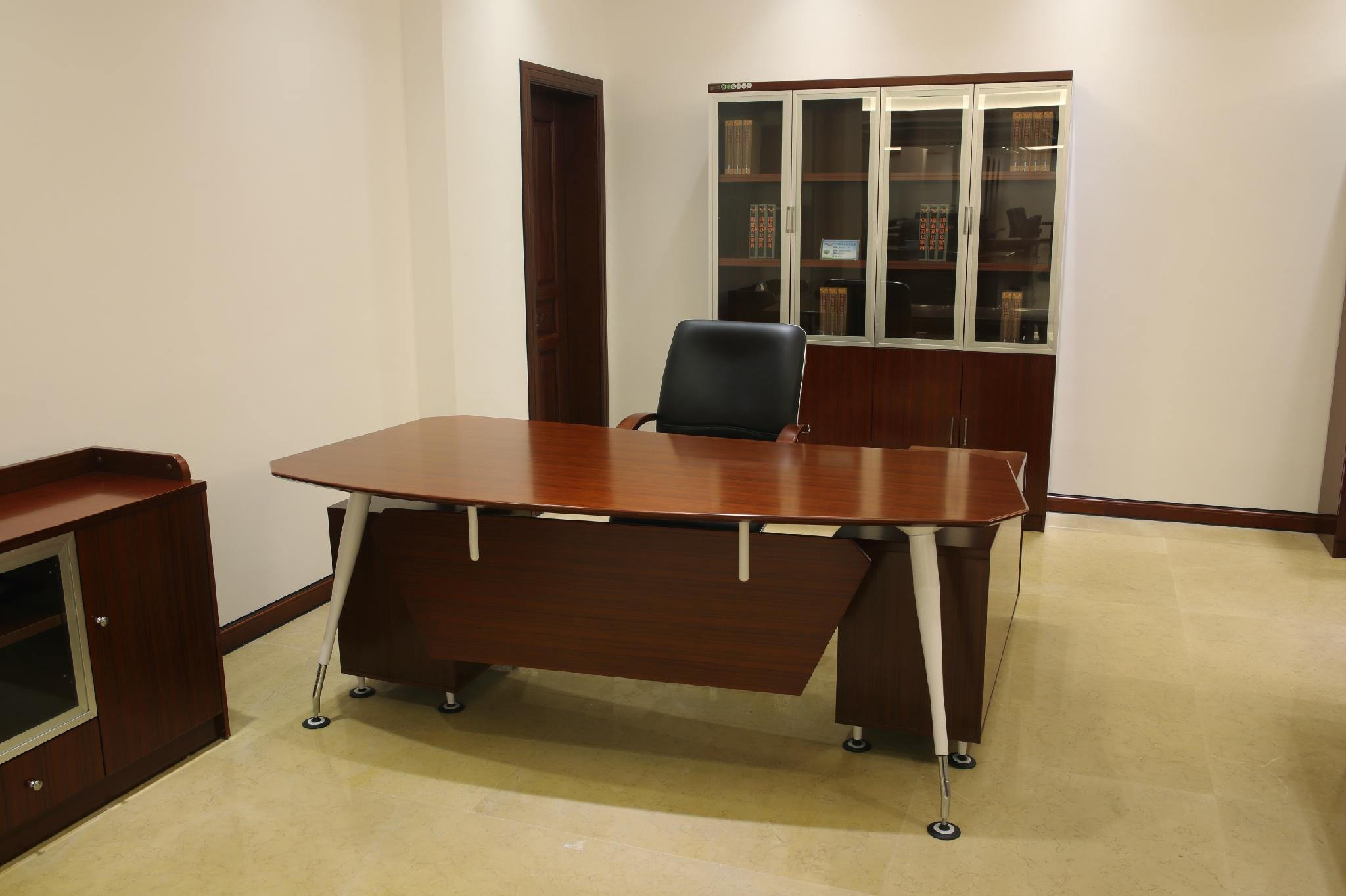 High Quality Metal Leg Wooden Manager Office Table Design Executive Office  Desk ...