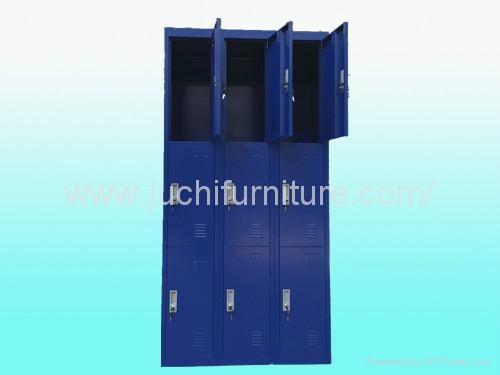 steel cabinet Nine-door locker 2