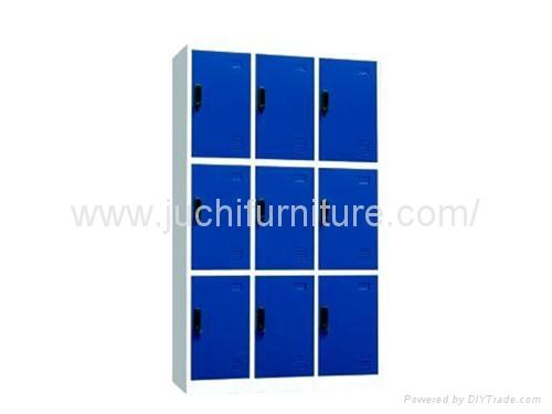 steel cabinet Nine-door locker 3