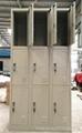 steel cabinet Nine-door locker 4