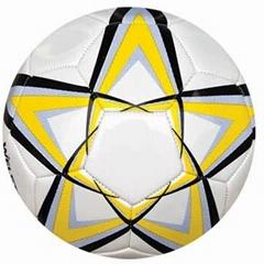 machine sewn soccerball