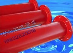 接单加工生产热浸塑钢管大小钢管20-1600