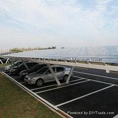 Solar Car Shelter