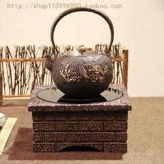 臺灣老岩泥電陶爐(泥磚屋)