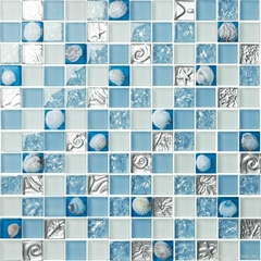 MG Mosaic Glass Tiles wall background