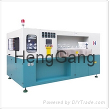PET single-cavity jar blow molding machine
