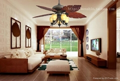 "52""ceiling fan with light"
