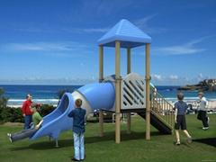 Kids Plastic Outdoor Playground Equipment