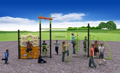 climbing series outdoor playground Fitness equipment