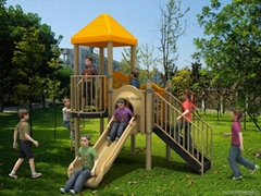 Carton Series kids outdoor playground Fitness equipment