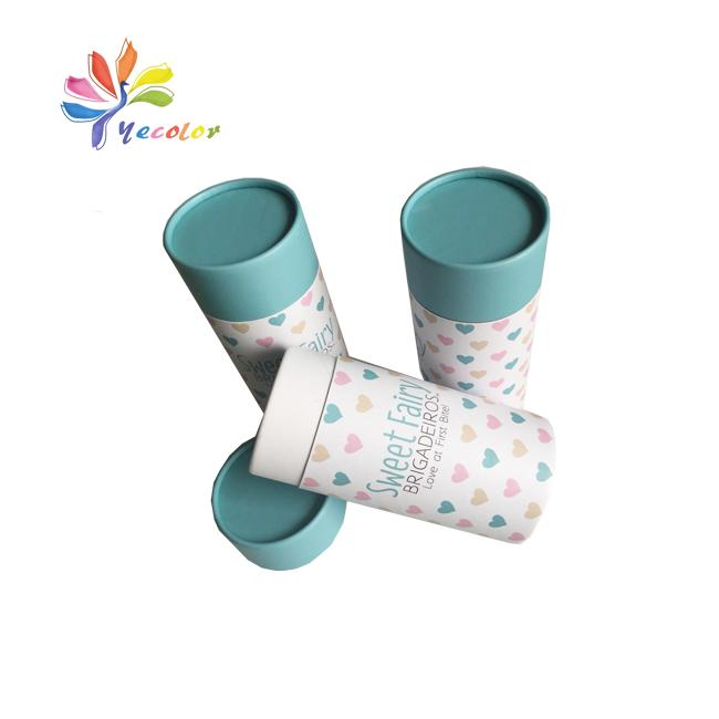 Round paperboard packaging box paper tube 1