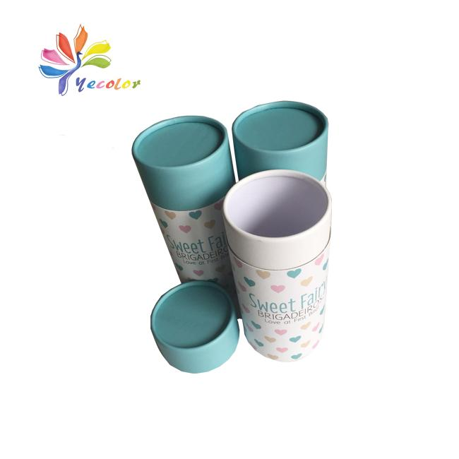 Round paperboard packaging box paper tube 2