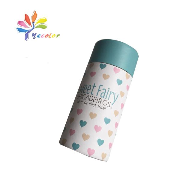 Round paperboard packaging box paper tube 3