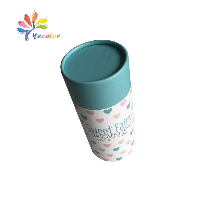 Round paperboard packaging box paper tube 4