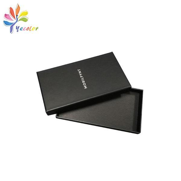 Customized matte black gift box  1