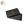 Customized matte black gift box