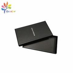 Customized matte black gift box