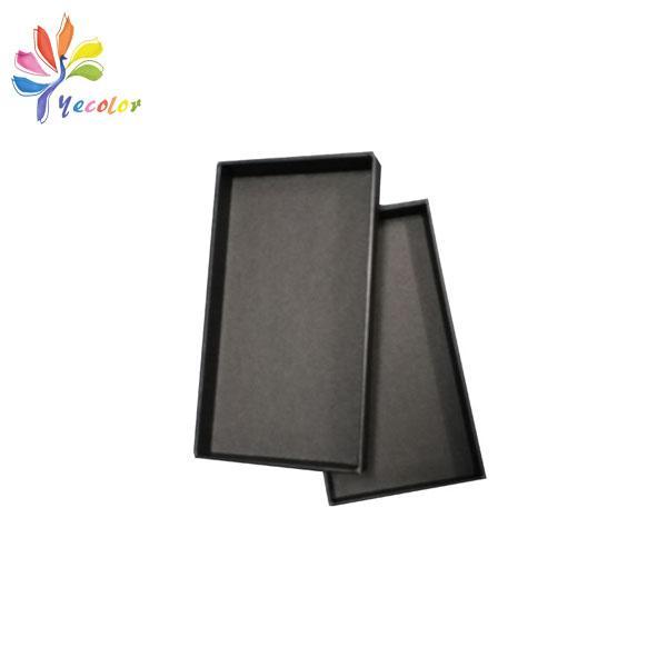 Customized matte black gift box  2