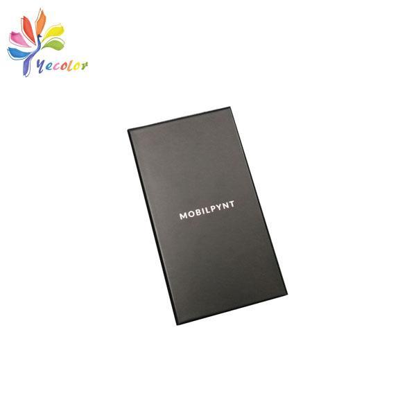 Customized matte black gift box  3