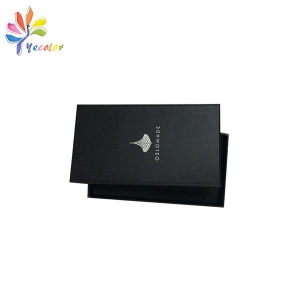 Customized matte black gift box  5