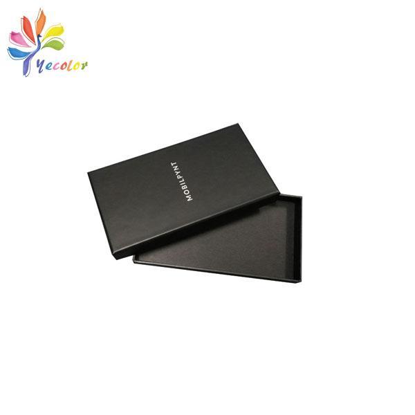 Customized matte black gift box  6