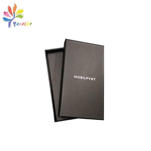 Customized matte black gift box  7