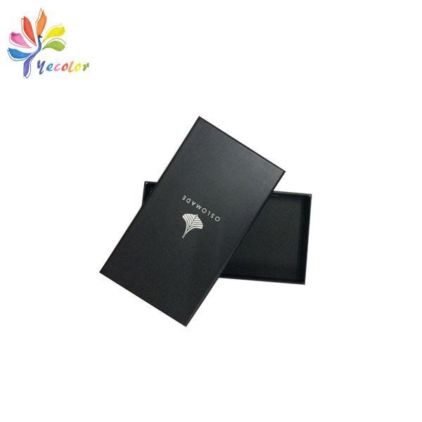 Customized matte black gift box  8