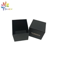 Customized matte black candle boxes