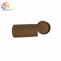 Kraft paper tube for bottle