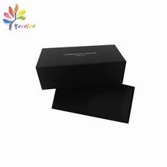 Black lingerie boxes with logo printing
