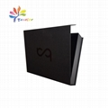Matt black magnetic garment packaging box